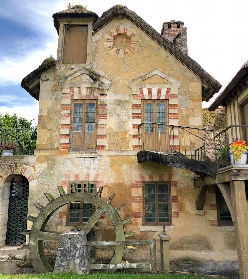 moulin - Le moulin du Hameau du Petit Trianon Img_1567