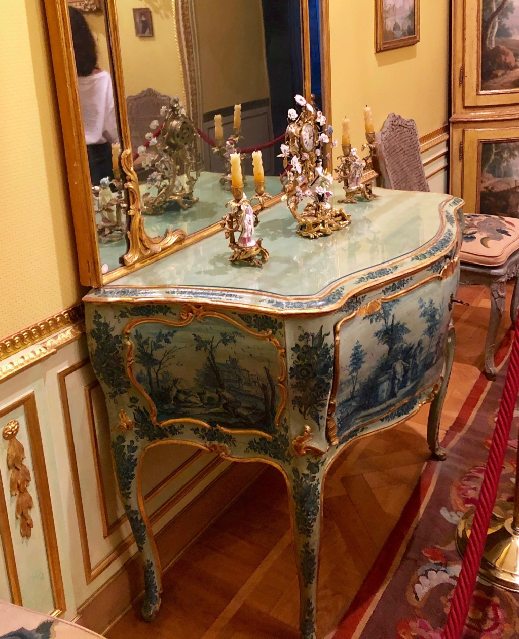 Visite de la Fondation Accorsi - Ometto, musée des arts décoratifs (Turin) : le Cognacq-Jay turinois Img_5447