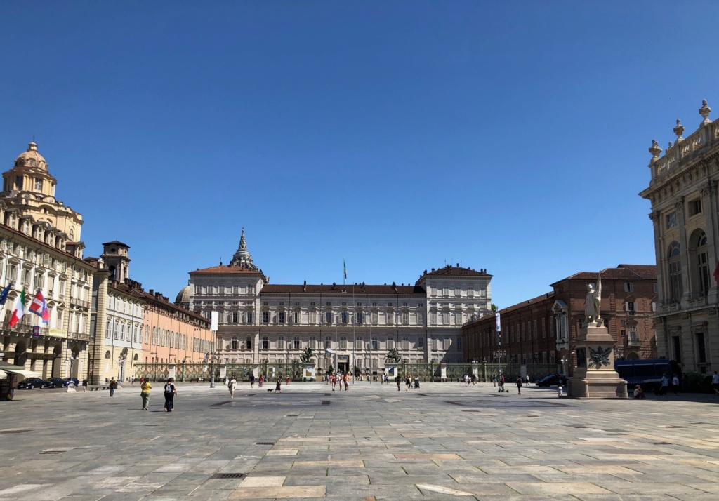 Le Palais royal de Turin (Palazzo Reale di Torino) Img_5451
