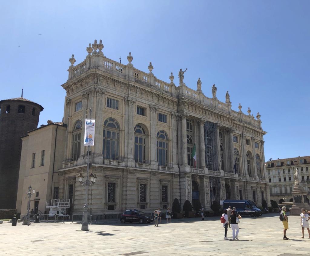 Le Palais Madame à Turin (Palazzo Madama, Torino) Img_5461