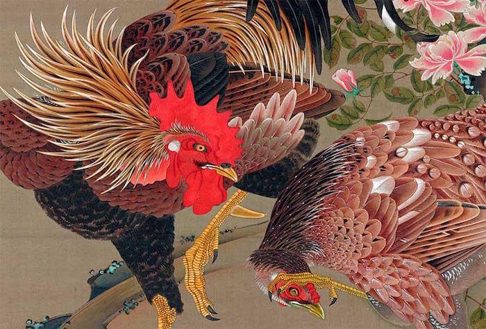 Exposition : Jakuchū (1716-1800), le Royaume coloré des êtres vivants Jakuch10