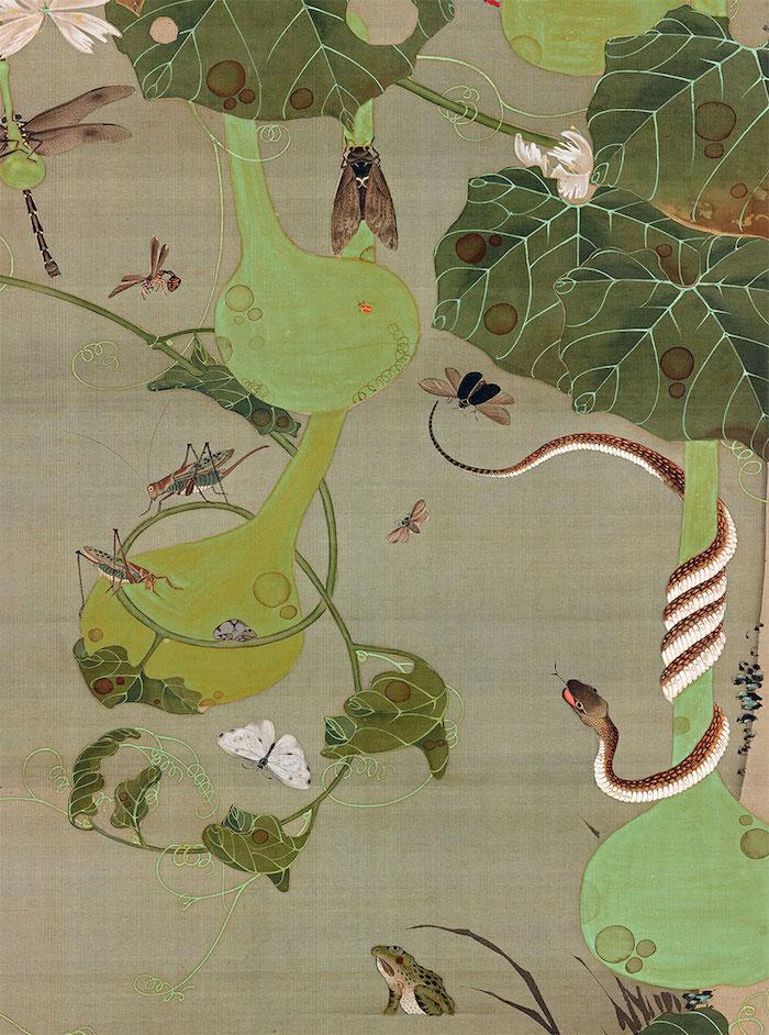Exposition : Jakuchū (1716-1800), le Royaume coloré des êtres vivants Jakuch11