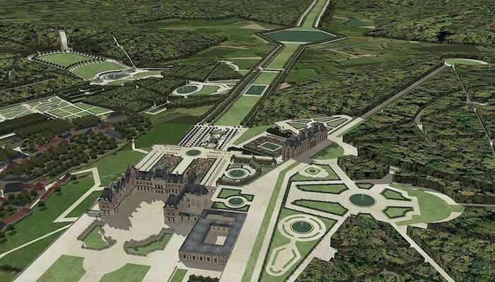 Meudon - Le château de Meudon Jardin10