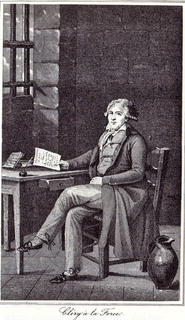 Jean-Baptiste Cléry, valet de chambre de Louis XVI Jean-b16