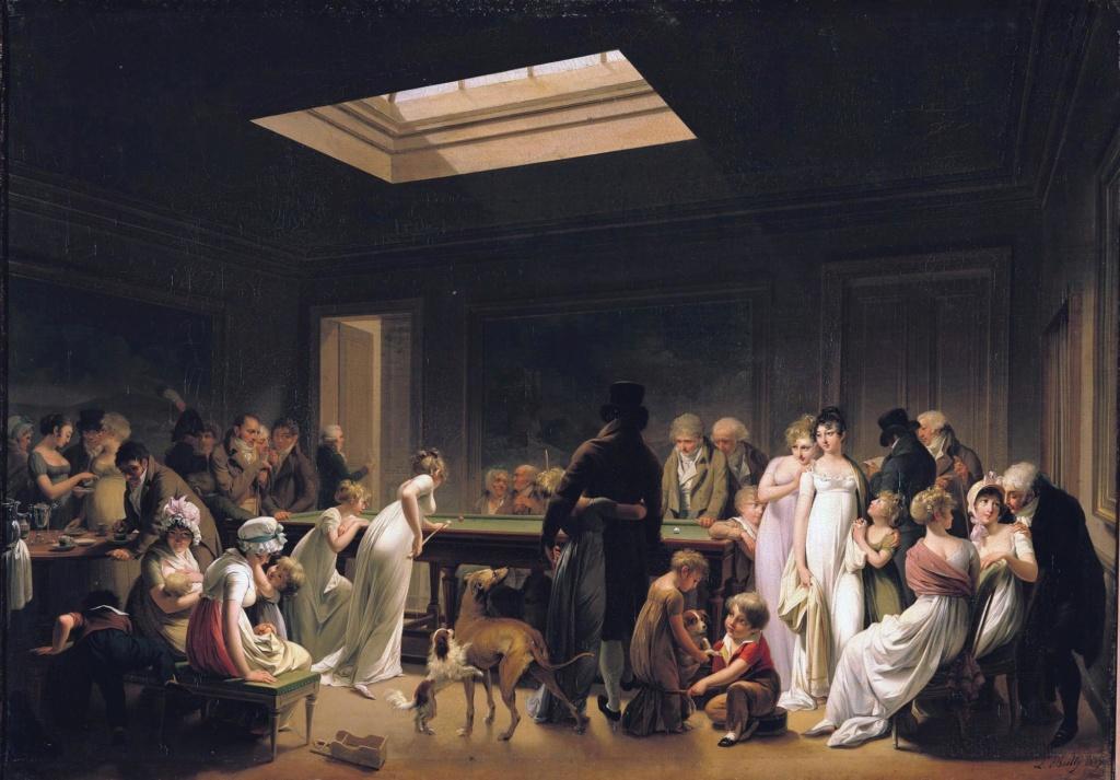 Louis-Léopold Boilly : peintre de la société parisienne de Louis XVI à Louis-Philippe Jeu_de13
