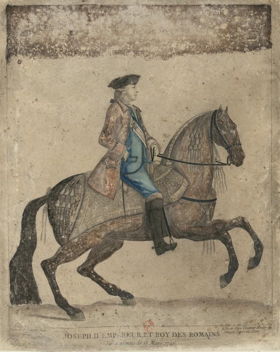 Série d'estampes : portraits équestres de Robin de Montigny  Joseph16