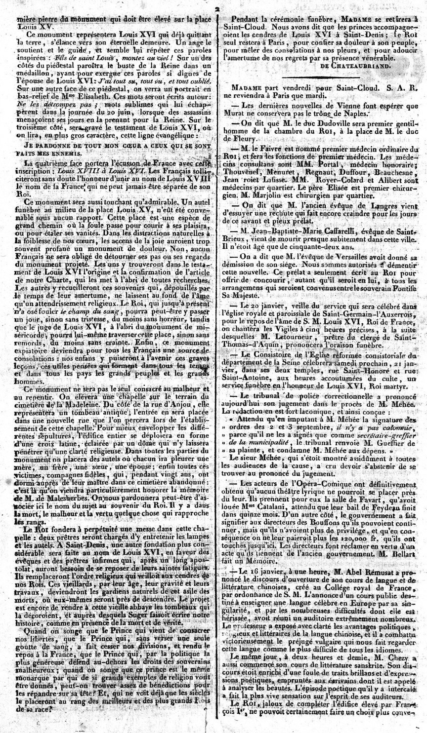 La Chapelle Expiatoire du square Louis XVI, à Paris - Page 3 Journa11