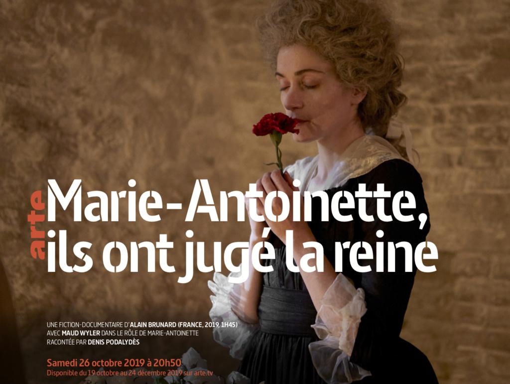 """Marie-Antoinette, """" Ils ont jugé la reine """". Docu-fiction sur Arte Jugea_10"""