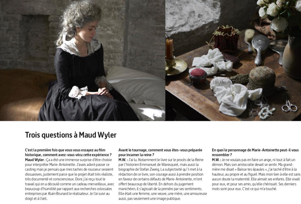 """Marie-Antoinette, """" Ils ont jugé la reine """". Docu-fiction sur Arte Jugea_12"""