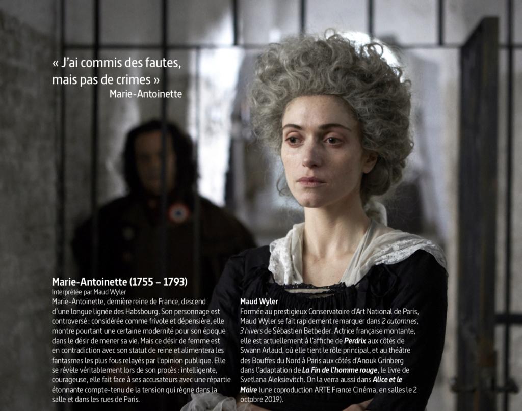 """Marie-Antoinette, """" Ils ont jugé la reine """". Docu-fiction sur Arte Jugea_13"""