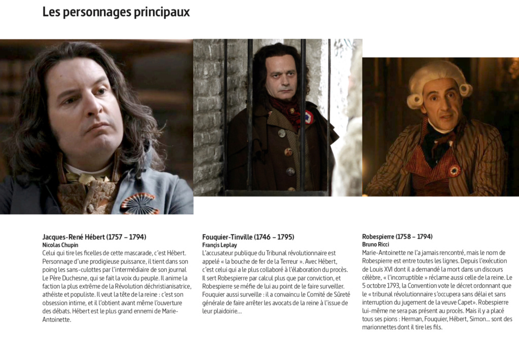 """Marie-Antoinette, """" Ils ont jugé la reine """". Docu-fiction sur Arte Jugea_15"""