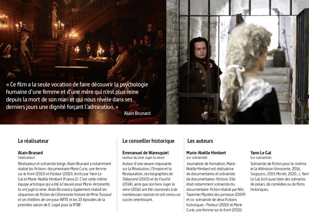 """Marie-Antoinette, """" Ils ont jugé la reine """". Docu-fiction sur Arte Jugea_16"""