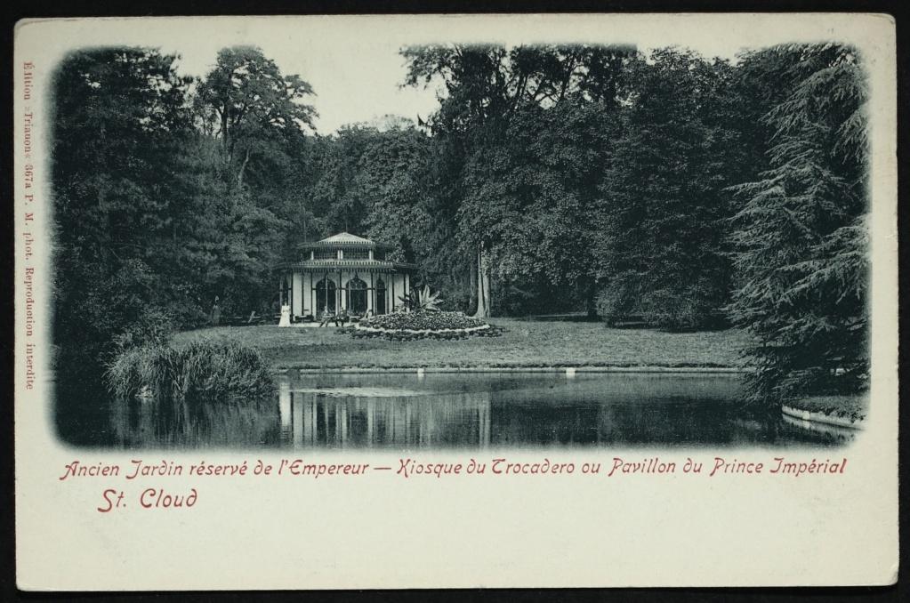 Les cèdres de Marie-Antoinette, jardin du Trocadéro, parc de Saint-Cloud Kiosqu10