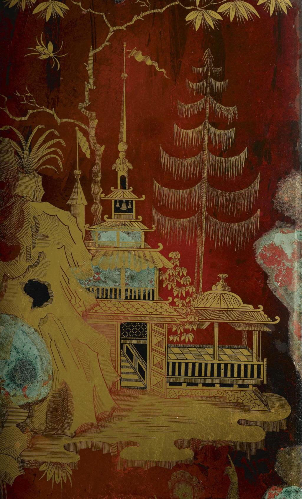 La peinture sous / sur verre chinoise au XVIIIe siècle L1050211