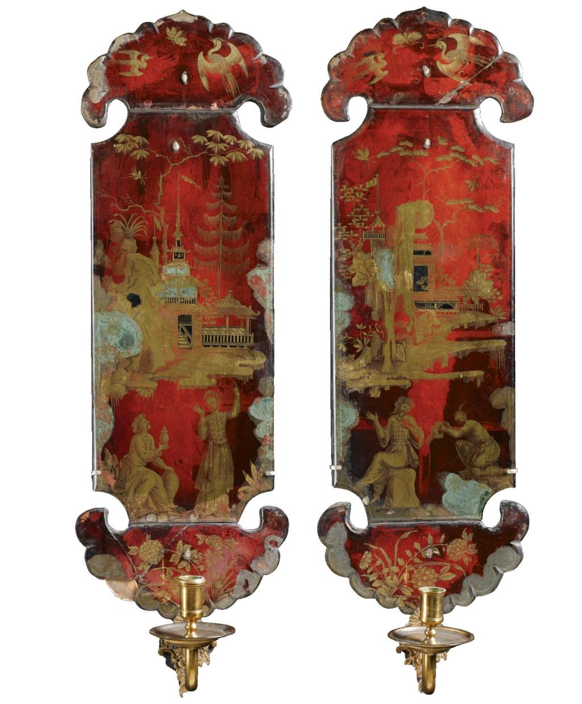 La peinture sous / sur verre chinoise au XVIIIe siècle L1050212