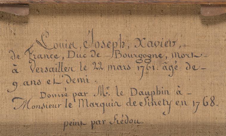Bourgogne, frère ainé de Louis XVI L16