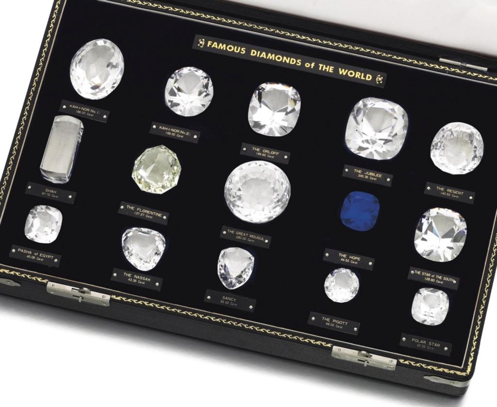 Les diamants les plus célèbres de l'Histoire L1805011