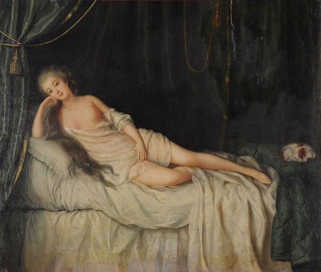 Mademoiselle Rosalie Duthé La-dut11