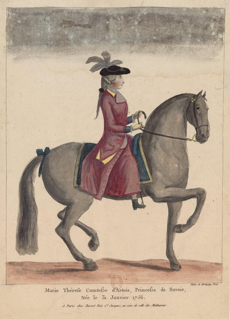 Série d'estampes : portraits équestres de Robin de Montigny  La_com10