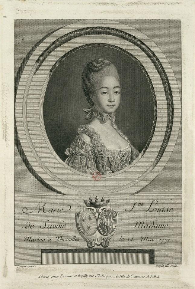 Marie-Joséphine de Savoie, comtesse de Provence - Page 8 La_com11