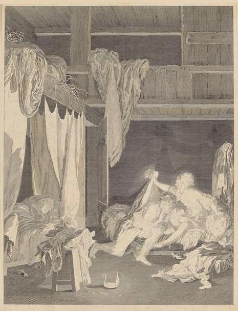 Pierre-Antoine Baudouin, dessinateur du libertinage au XVIIIe siècle La_sen10