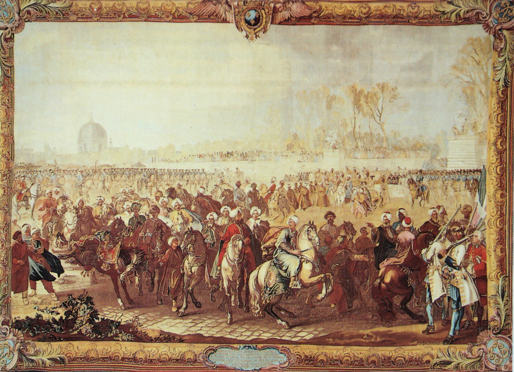 Yirmisekiz-Mehmed Çelebi Efendi - Ambassadeur de la Sublime Porte en visite en France de 1720 à 1721 La_sor10