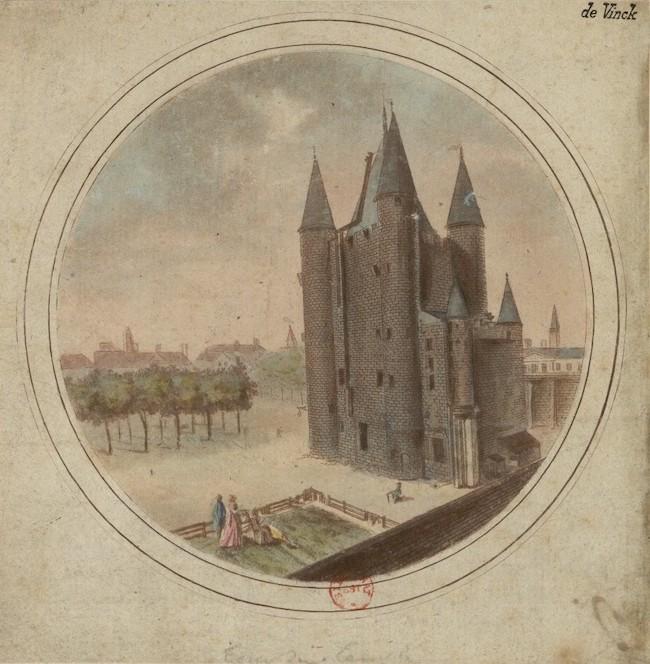 La famille royale à la prison du Temple : plans et aménagements - Page 7 La_tou11