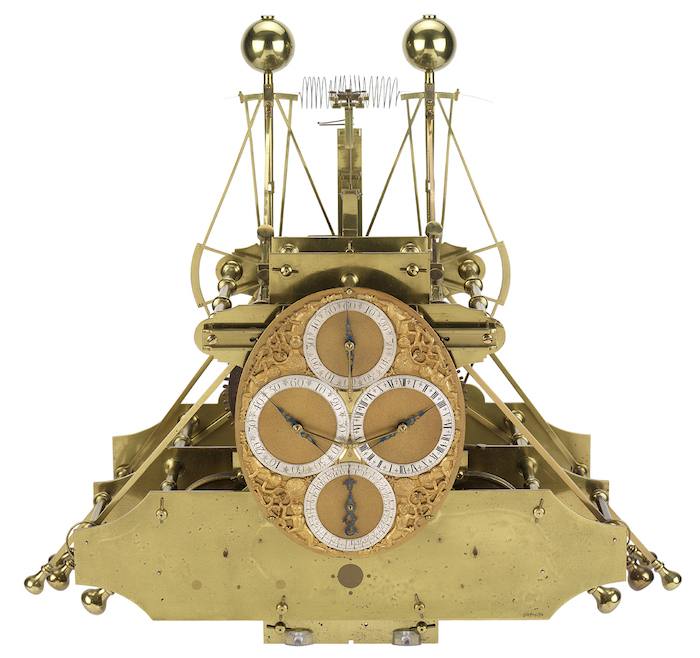 Latitudes et longitudes, les instruments de mesure du temps pour les voyages : chronomètre de marine, cadrans solaires et boussoles du XVIIIe siècle Large10
