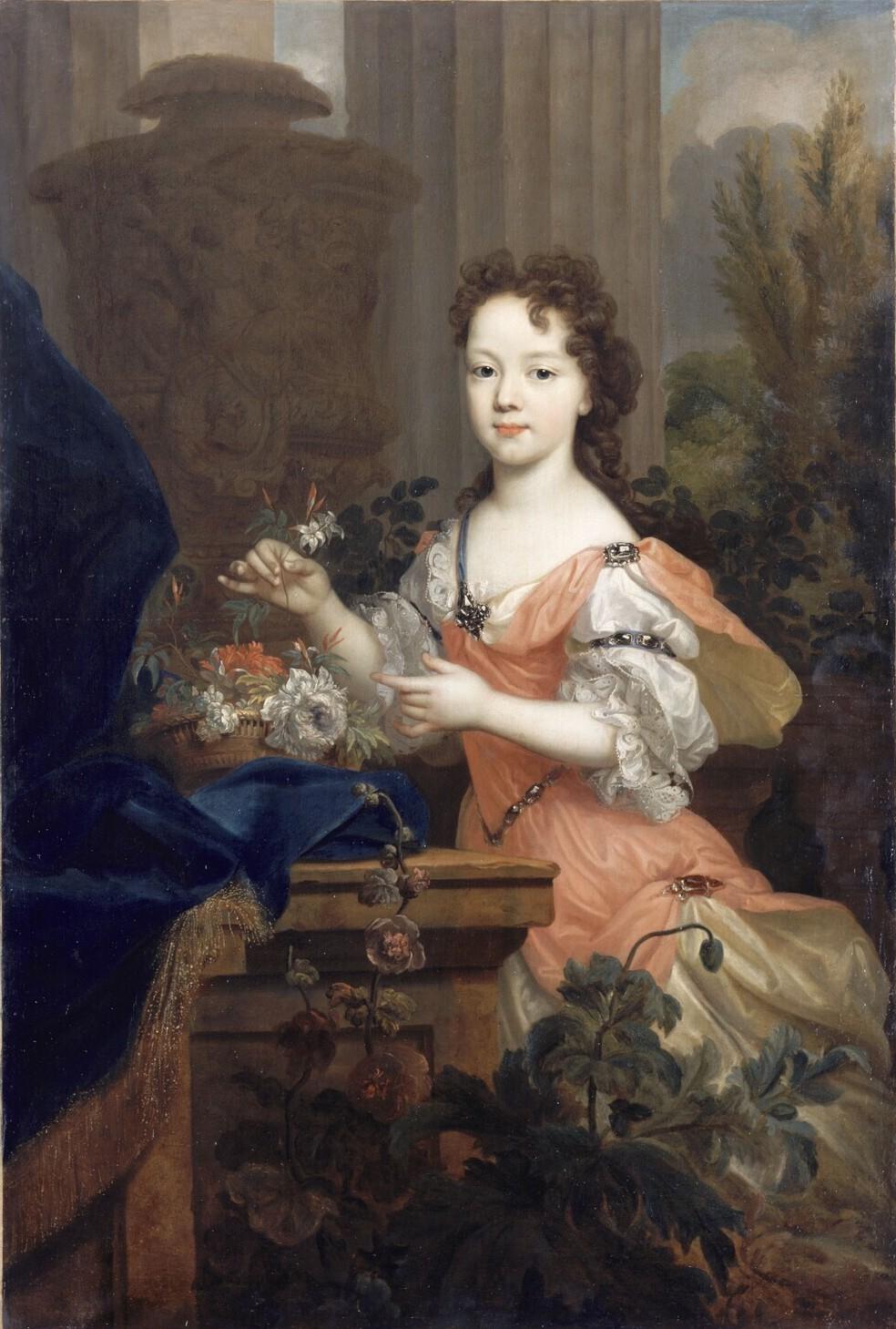 Élisabeth-Charlotte d'Orléans, duchesse de Lorraine et de Bar, grand-mère paternelle de Marie-Antoinette Largil10
