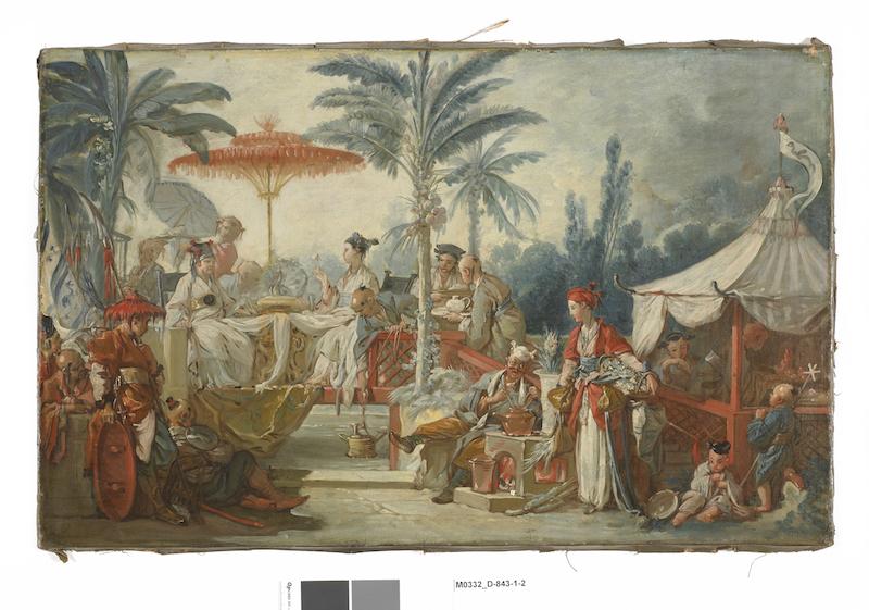 Exposition : Une des provinces du Rococo, la Chine rêvée de François Boucher (MBAA de Besançon) Le-fes10