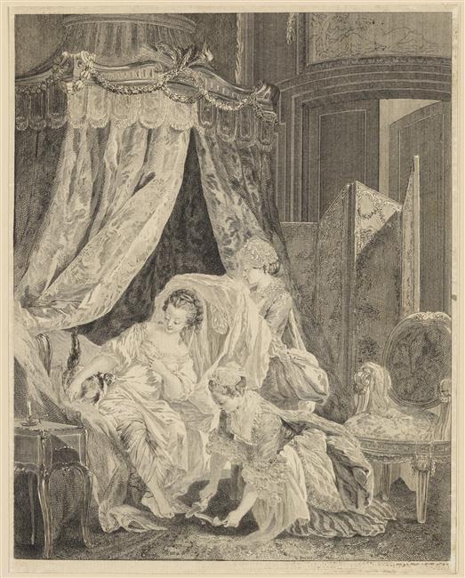 Pierre-Antoine Baudouin, dessinateur du libertinage au XVIIIe siècle Le_lev10
