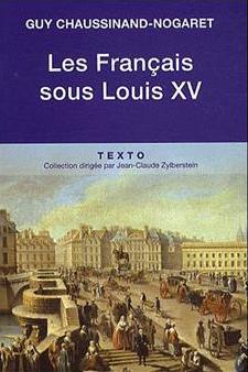 Variations sur l'Ancien Régime. De Guy Chaussinand-Nogaret Les-fr10