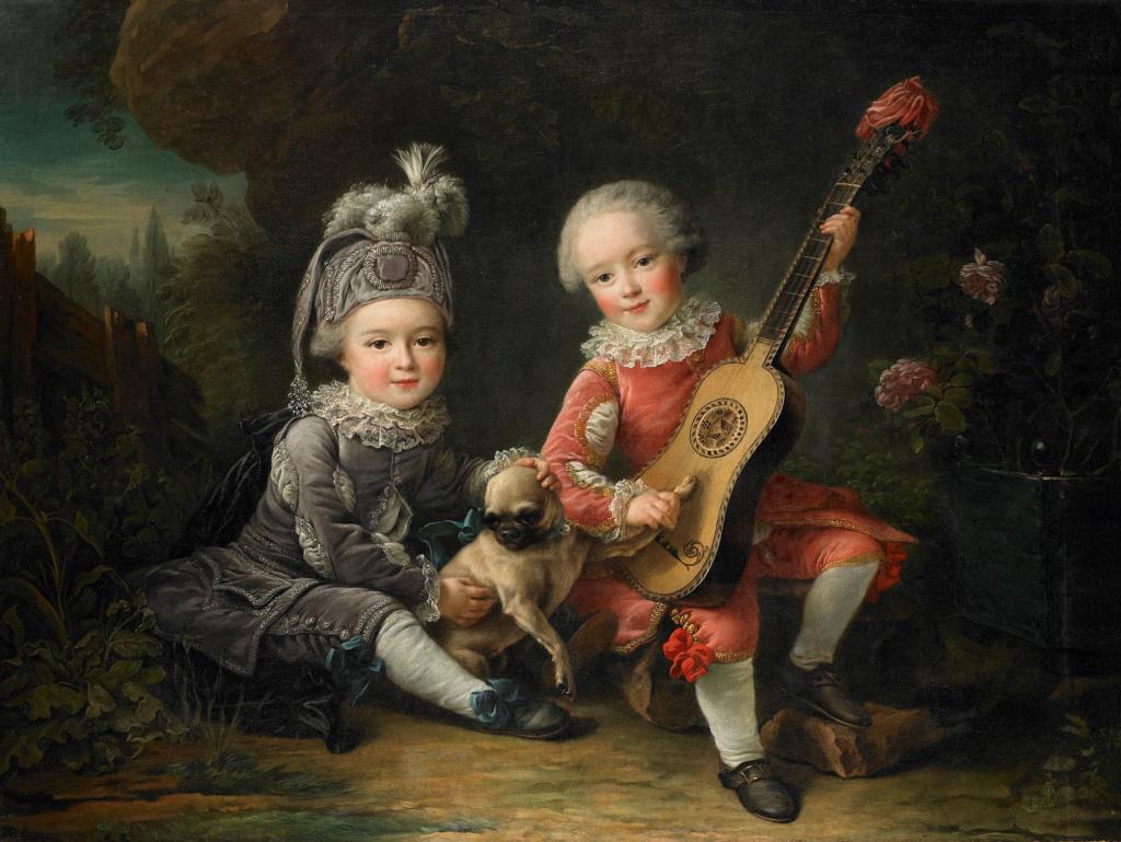 Les Drouais, artistes peintres de père en fils : Jean, Hubert, François-Hubert et Jean-Germain Drouais Lespor10