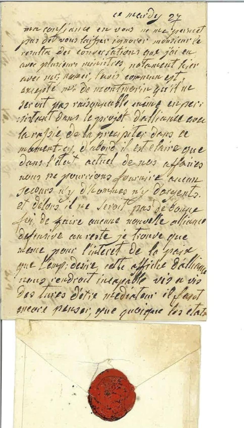 La correspondance de Marie-Antoinette avec le comte de Mercy-Argenteau - Page 2 Lette_10