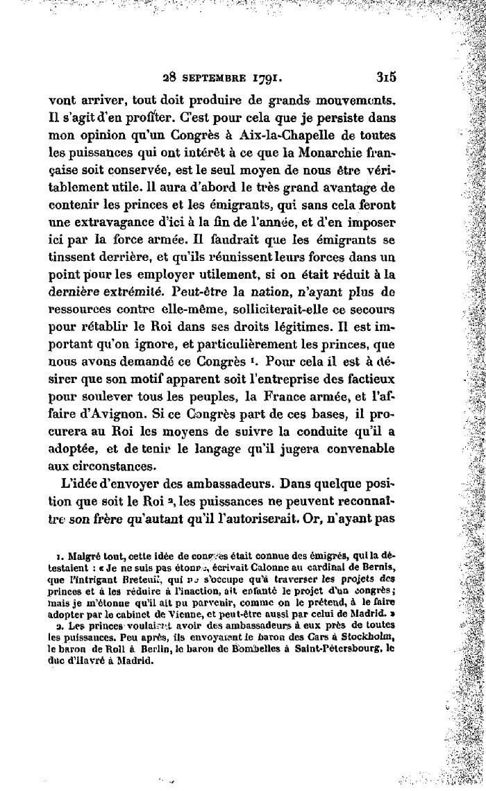 La correspondance de Marie-Antoinette avec le comte de Mercy-Argenteau - Page 2 Lettre13