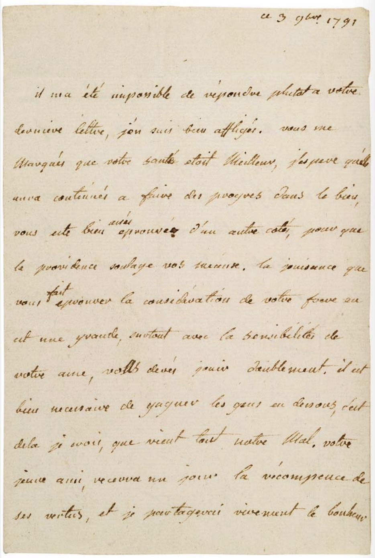 Madame Élisabeth, sœur  de Louis XVI - Page 8 Lettre17