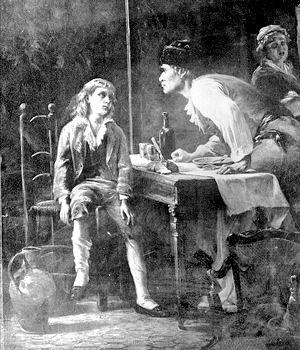Expo : Heurs et malheurs de Louis XVII, arrêt sur images. Musée de la Révolution française, Vizille Louis-10