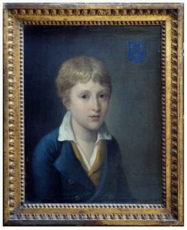 Les portraits de Louis XVII, prisonnier au Temple - Page 4 Louis104