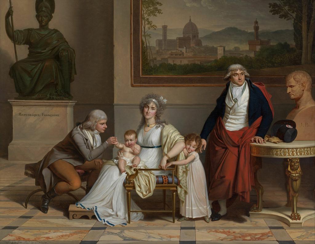 Louis Gauffier (1762-1801), peintre français installé en Italie Louis112