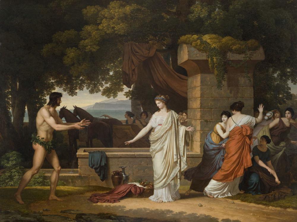 Louis Gauffier (1762-1801), peintre français installé en Italie Louis128