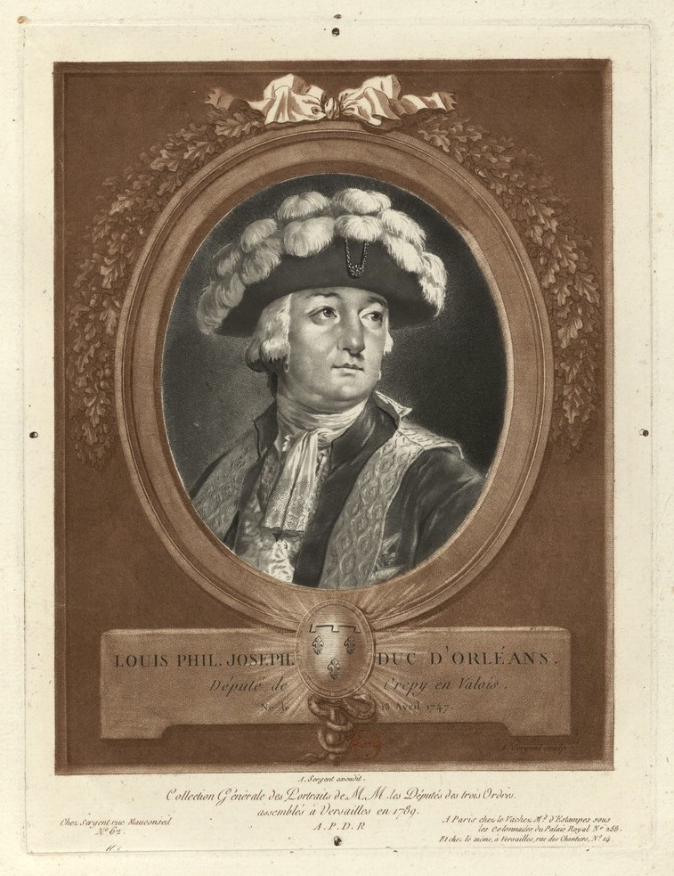 Louis-Philippe d'Orléans, duc de Chartres, puis duc d'Orléans (1785-1790), dit Philippe Égalité - Page 5 Louis131