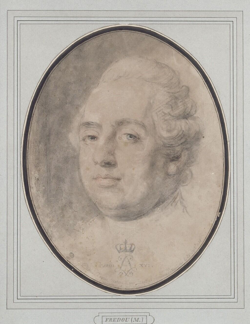 fredou - Portraits de Marie-Antoinette et de la famille royale, par Jean-Martial Frédou Louis_22