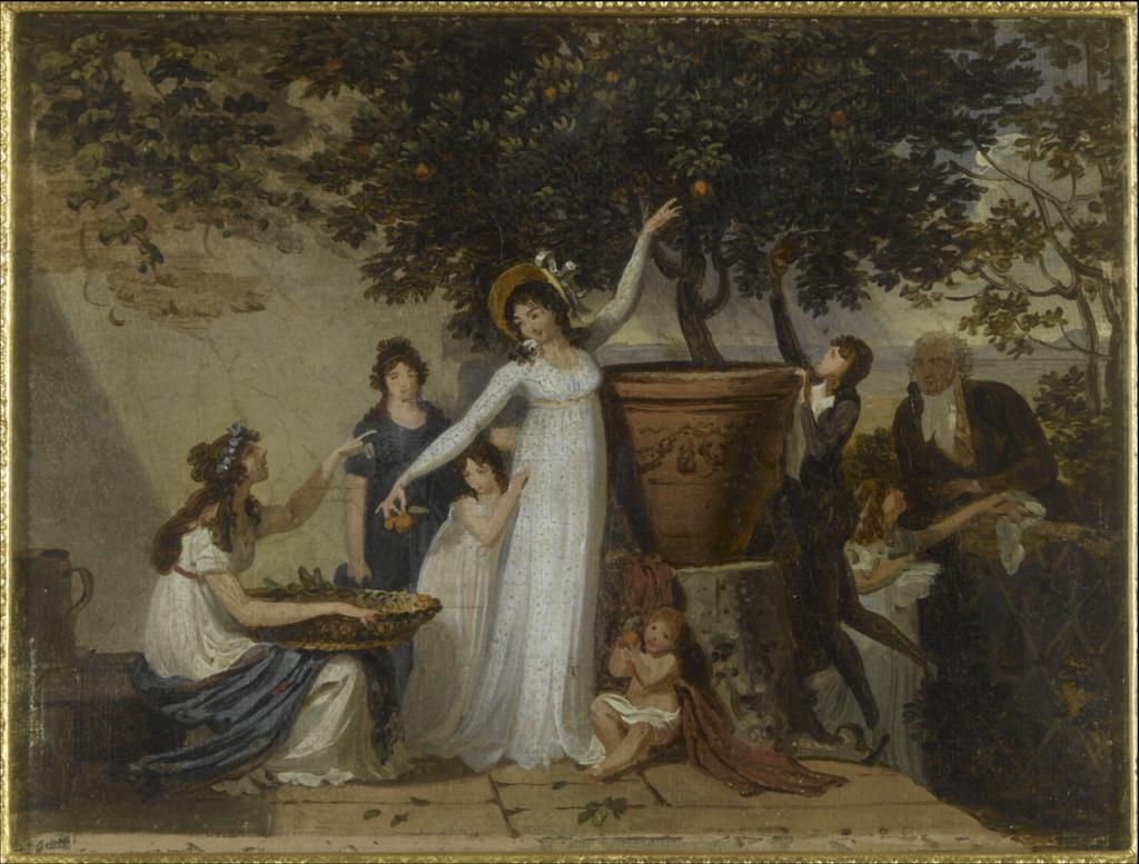 Louis Gauffier (1762-1801), peintre français installé en Italie Louis_23