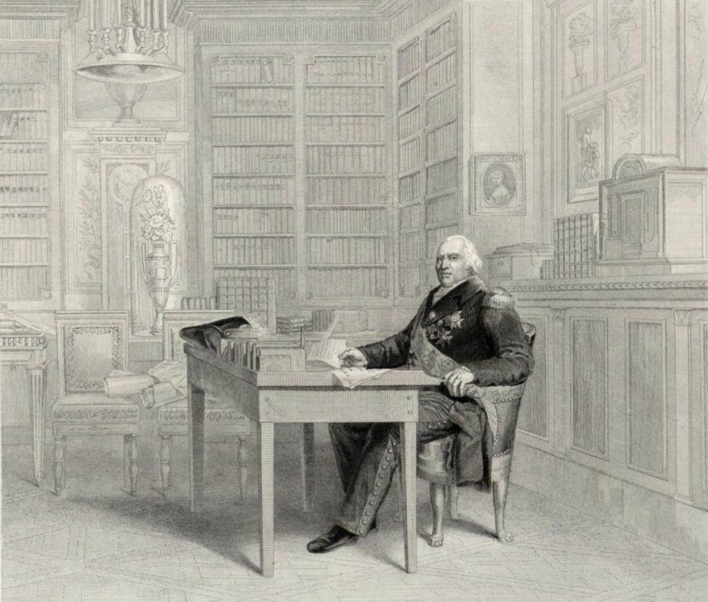 Louis-Stanislas, comte de Provence, et futur roi Louis XVIII - Page 9 Louis_28