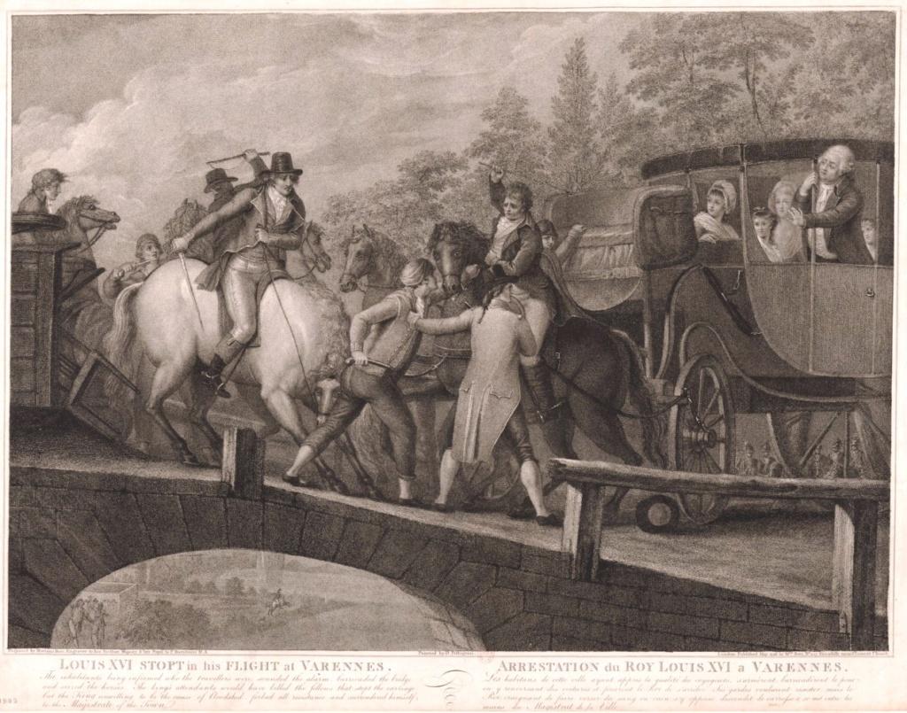La fuite à Montmédy et l'arrestation à Varennes Louis_55