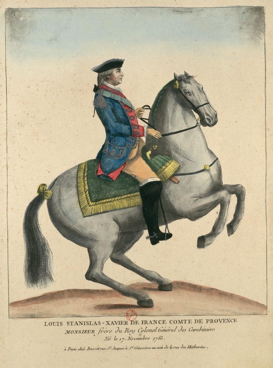 Série d'estampes : portraits équestres de Robin de Montigny  Louis_62