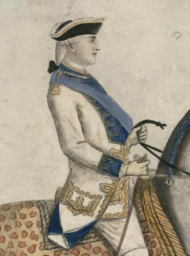Série d'estampes : portraits équestres de Robin de Montigny  Louis_64