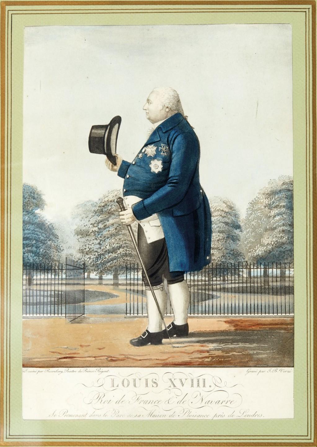 Louis-Stanislas, comte de Provence, et futur roi Louis XVIII - Page 8 Louis_73