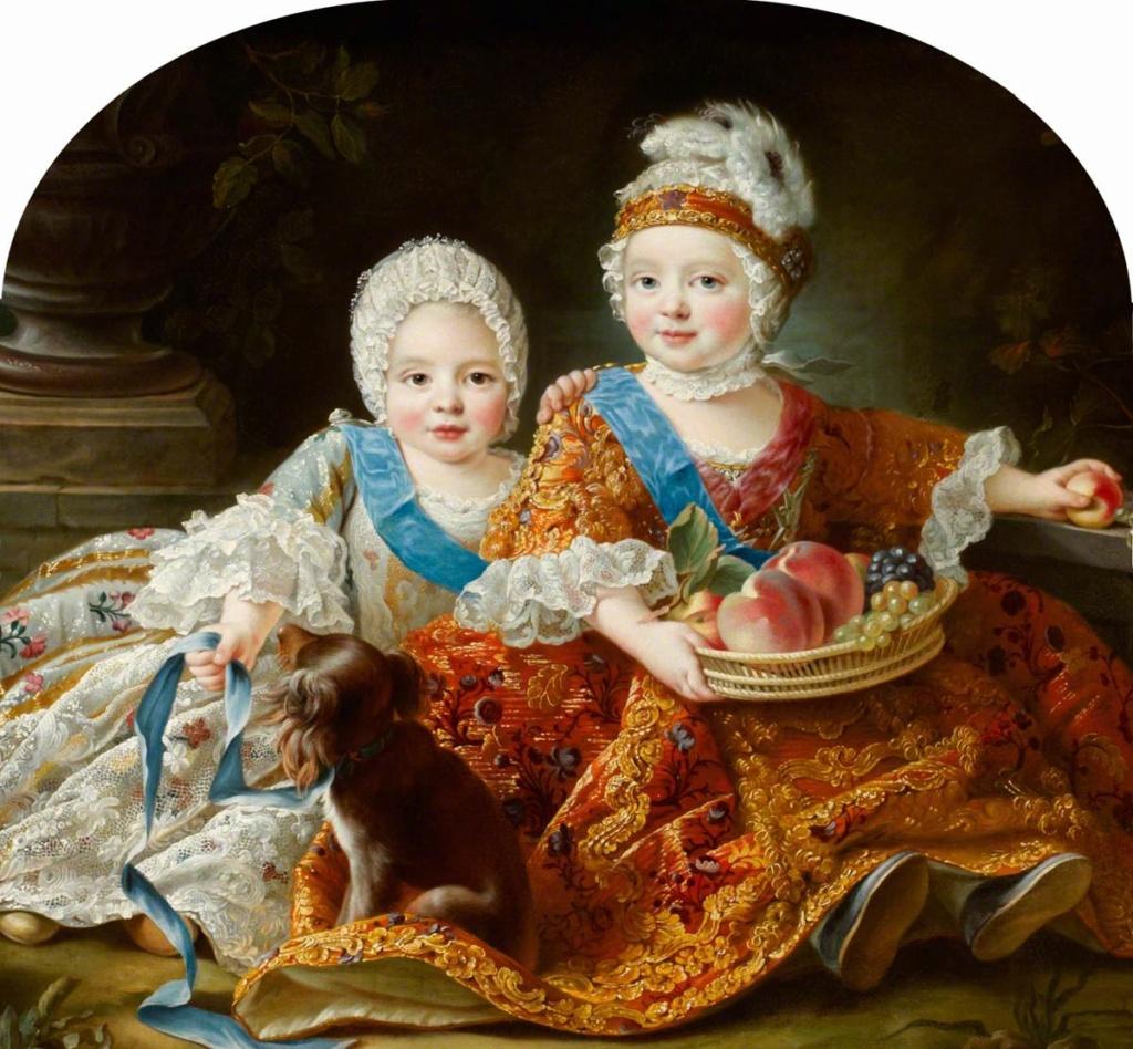 Les Drouais, artistes peintres de père en fils : Jean, Hubert, François-Hubert et Jean-Germain Drouais Louis_79