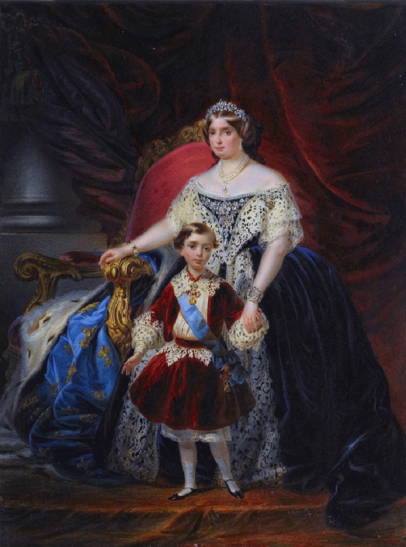 Quatre perles parmi les plus célèbres au monde : La Régente (Perle Napoléon), La Pélégrina, La Pérégrina, La perle de Marie-Antoinette - Page 2 Louise15